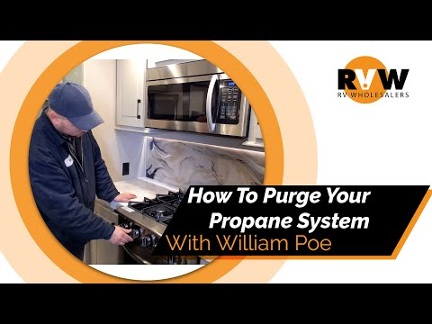 How To Purge Your RV's Propane System