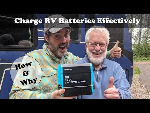 How to Effectively Charge RV Batteries While Driving