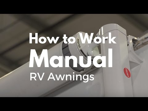How To Work A Manual RV Awning