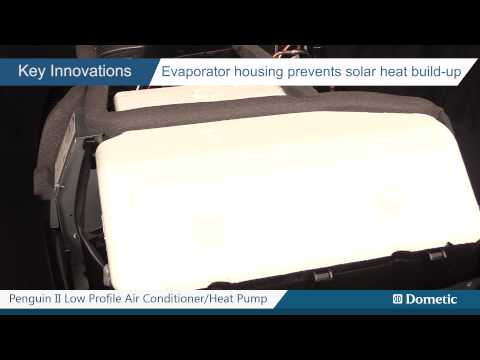 Dometic's Penguin II For RVs - A Sleek, Low-Profile, Rooftop Air Conditioner/Heat Pump