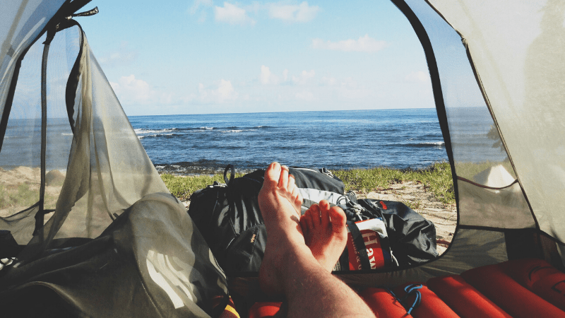 Camping helps you enjoy life