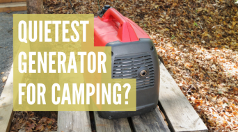 What Is The Quietest Generator For Camping? (Top 3 Models)