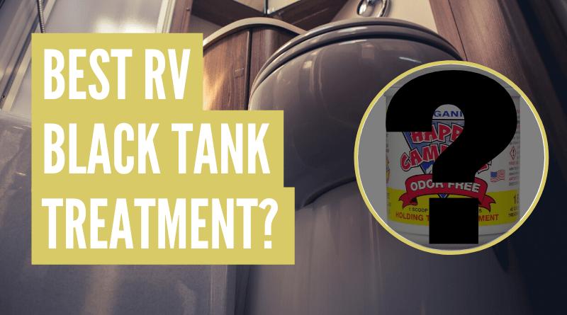Best RV Black Tank Treatment
