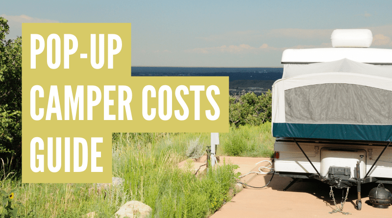 How much is a pop up camper