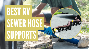 5 Best RV Sewer Hose Support Holders (Reviews & Comparisons)