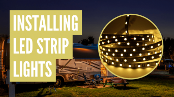 How To Install LED Strip Lights On RV Awning (Complete Guide)
