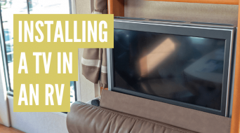 How To Install A Flat Screen TV In An RV (Detailed Guide)