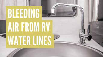 How to Bleed Air From RV Water Lines (Best Way)