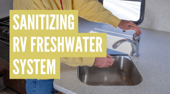 How to Sanitize RV Freshwater Tank & Lines (3 Easy Steps)