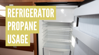 How Much Propane Does an RV Fridge Use?