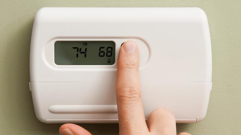 RV furnace thermostat