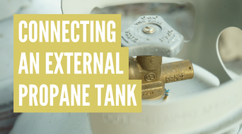 How to Hook Up an External Propane Tank to an RV (3 Simple Steps)
