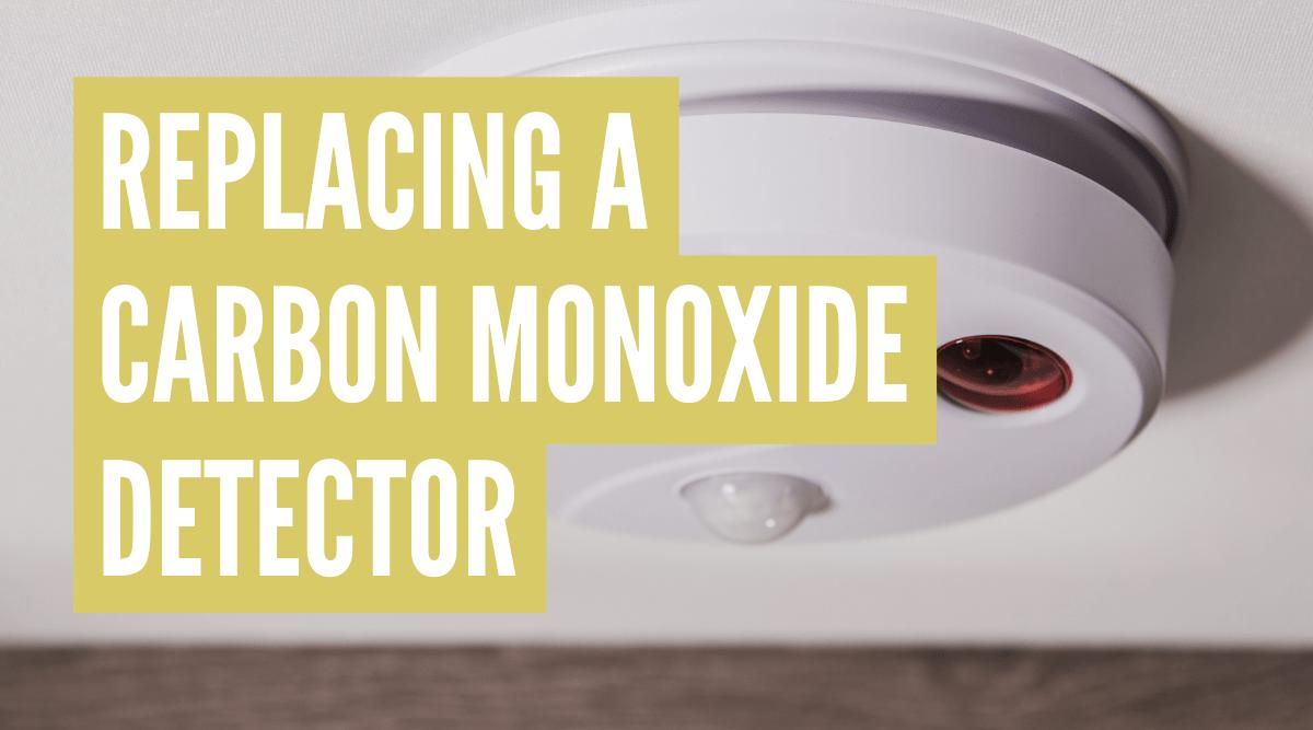 How to replace RV carbon monoxide detector