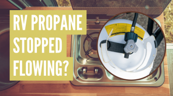 RV Propane Not Flowing? Do This!