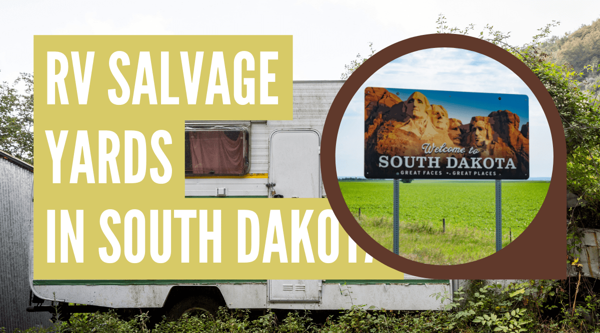 RV salvage yards in South Dakota