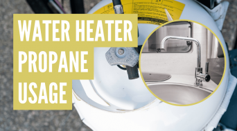 How Much Propane Does an RV Water Heater Use? (Free Calculator)