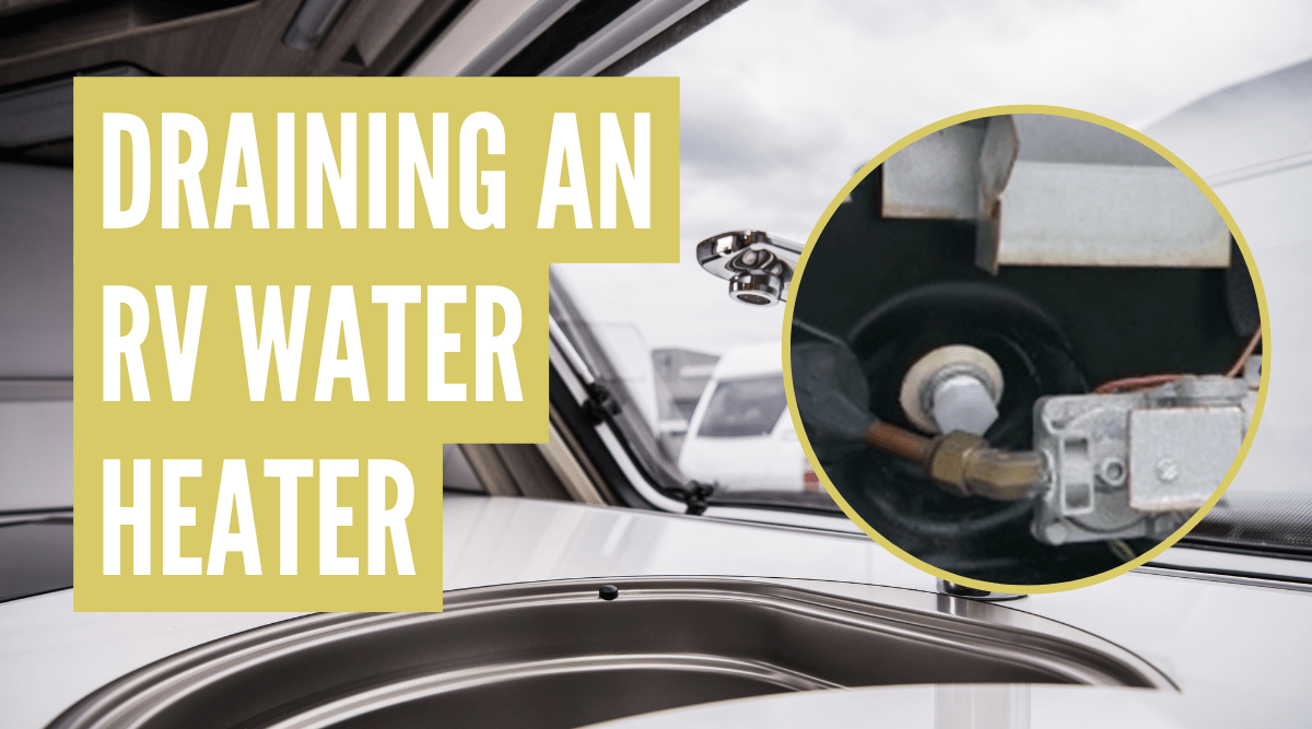 How to drain RV water heater